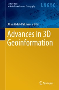 Cover Advances in 3D Geoinformation