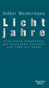 Cover Lichtjahre