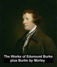 Cover The Works of Edmund Burke, plus Burke