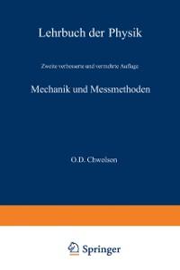 Cover Mechanik und Messmethoden