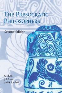 Cover Presocratic Philosophers