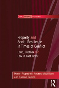Cover Property and Social Resilience in Times of Conflict