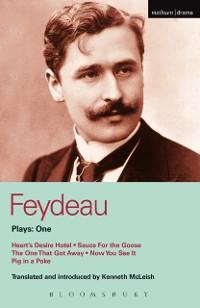 Cover Feydeau Plays: 1