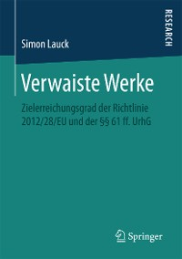 Cover Verwaiste Werke