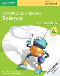 Cover Cambridge Primary Science Stage 4