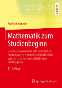 Cover Mathematik zum Studienbeginn
