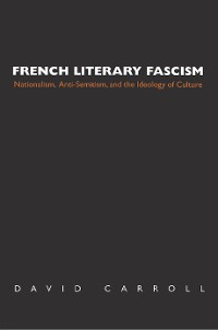 Cover French Literary Fascism
