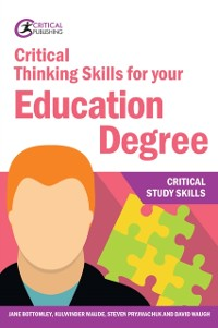 Cover Critical Thinking Skills for your Education Degree