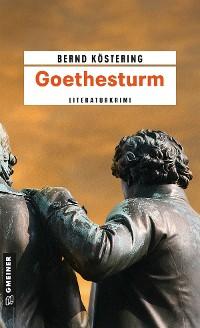 Cover Goethesturm