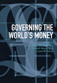 Cover Governing the World's Money