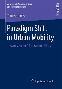 Cover Paradigm Shift in Urban Mobility