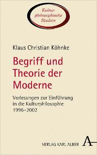 Cover Begriff und Theorie der Moderne