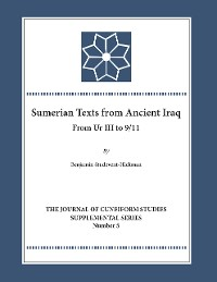 Cover Sumerian Texts from Ancient Iraq