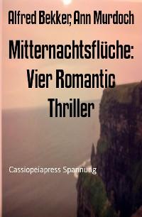 Cover Mitternachtsflüche: Vier Romantic Thriller