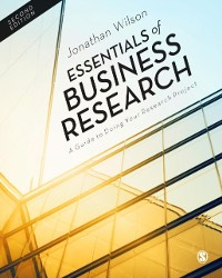 Cover Essentials of Business Research