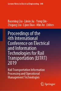 Cover Proceedings of the 4th International Conference on Electrical and Information Technologies for Rail Transportation (EITRT) 2019