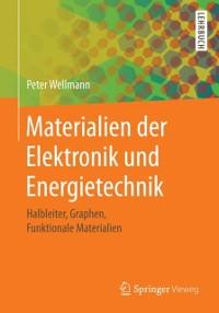 Cover Materialien der Elektronik und Energietechnik