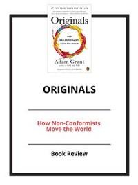 Cover Originals: How Non-Conformists Move the World