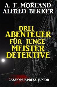 Cover Drei Abenteuer für junge Meisterdetektive