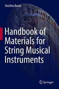 Cover Handbook of Materials for String Musical Instruments