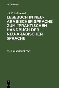 Cover Arabischer Text