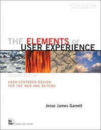 Cover Elements of User Experience,The