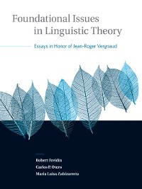 Cover Foundational Issues in Linguistic Theory