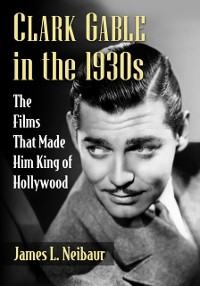 Cover Clark Gable in the 1930s