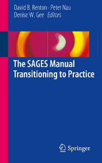 Cover The SAGES Manual Transitioning to Practice