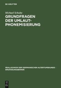 Cover Grundfragen der Umlautphonemisierung