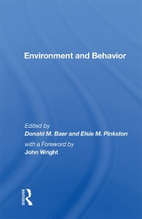 Cover Environment And Behavior