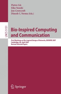 Cover Bio-Inspired Computing and Communication