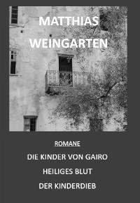 Cover Romane: Die Kinder von Gairo - Heiliges Blut - Der Kinderdieb