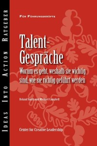 Cover Talent Conversation: What They Are, Why They're Crucial, and How to Do Them Right (German)