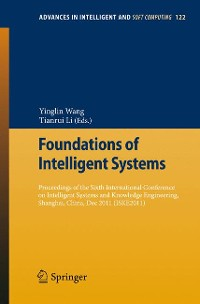 Cover Foundations of Intelligent Systems