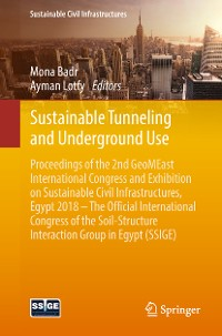 Cover Sustainable Tunneling and Underground Use