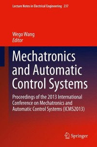 Cover Mechatronics and Automatic Control Systems