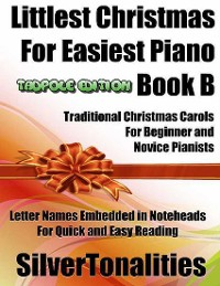 Cover Littlest Christmas for Easiest Piano Book B Tadpole Edition