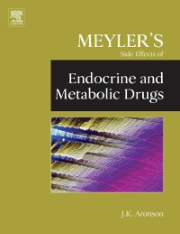 Cover Meyler's Side Effects of Endocrine and Metabolic Drugs