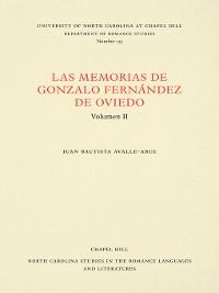 Cover Las Memorias de Gonzalo Fernández de Oviedo