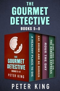 Cover Gourmet Detective Books 5-8