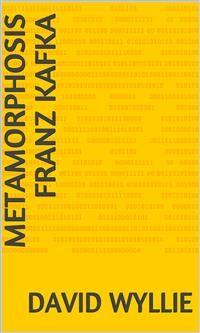 Cover Metamorphosis Franz Kafka