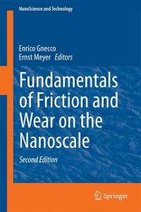 Cover Fundamentals of Friction and Wear on the Nanoscale