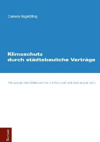 Cover Klimaschutz durch städtebauliche Verträge