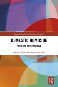 Cover Domestic Homicide