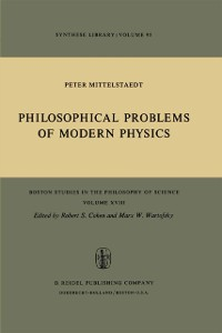 Cover Philosophical Problems of Modern Physics