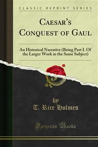 Cover Caesar's Conquest of Gaul