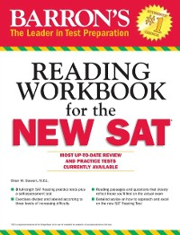 Cover Reading Workbook for the NEW SAT