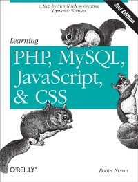 Cover Learning PHP, MySQL, JavaScript, and CSS