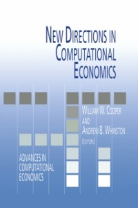 Cover New Directions in Computational Economics